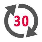 30-Tage-Rückgabe
